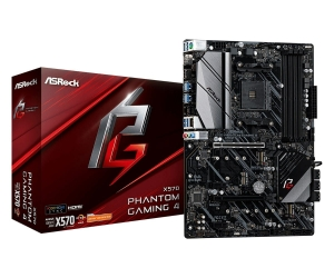 ASRock Płyta główna X570 Phantom Gaming 4 AM4 4DDR4 HDMI/DP M.2 ATX